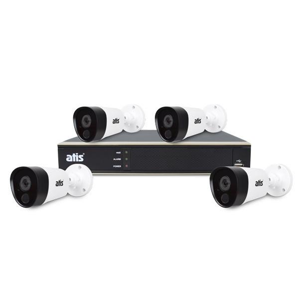 Комплект видеонаблюдения ATIS PIR kit 4ext 2MP купить в интернет-магазине FOZZYSHOP